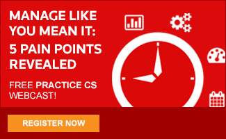 Manage Like You Mean It: 5 Pain Points Revealed - Free Practice CS Webcast! Register now