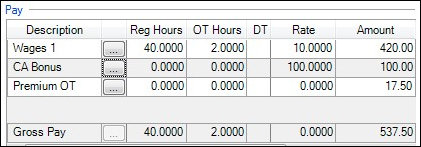 california weighted average overtime calculation