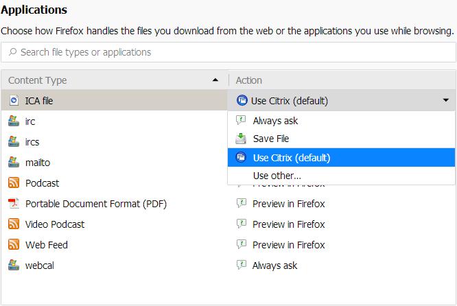 Citrix Client overview