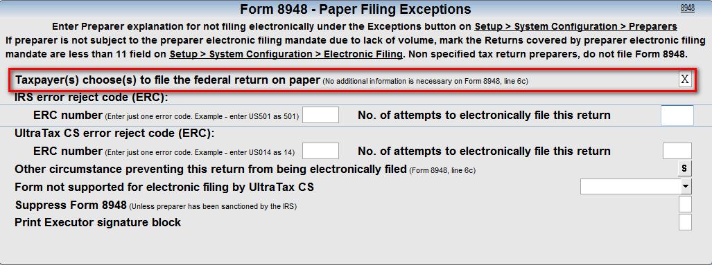 form 8948