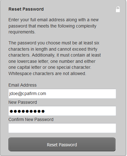 How to reset your Web Builder CS Email password