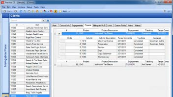 Completing Projects in Practice CS by Logging Status Events in UltraTax CS video screenshot
