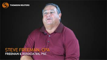 CPA Steve Freeman on SaaS for CS Professional Suite video screenshot