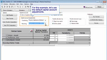 Entering Transfers of Partner Capital in UltraTax CS video screenshot