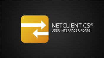 NetClient CS 2012 User Interface Update video screenshot