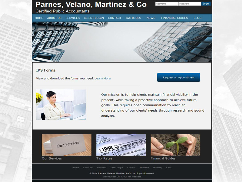CPA Website Design Free Accounting Website Templates - Tax website templates