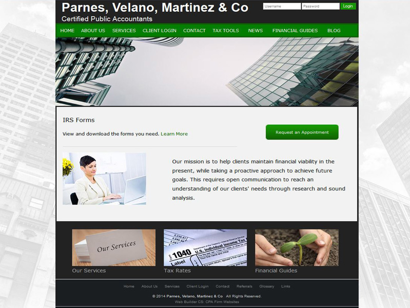 cpa website design free accounting website templates