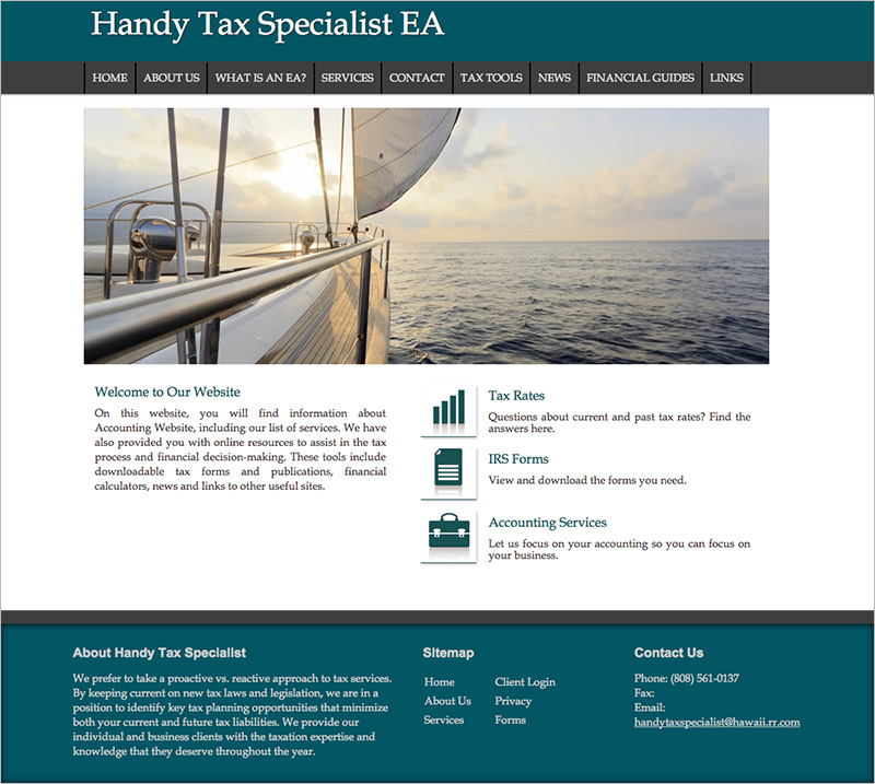 Accounting Firms Website