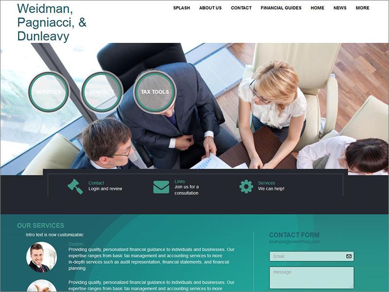Websites for accountants web builder cs formerly emochila build your accounting website with web builder cs maxwellsz